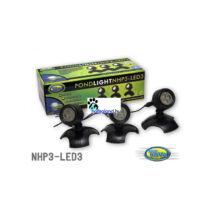 Aqua Nova NHP3-LED3 kerti tó világítás szett