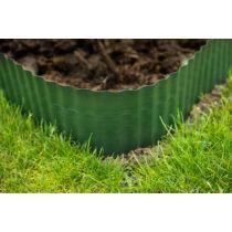 Gyepszegély zöld 20 cm x 9 m PE