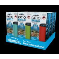 Halo mini polc display 9 egység piros, kék, zöld