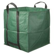 Lombgyűjtő zsák 148l zöld, 53x53x53cm