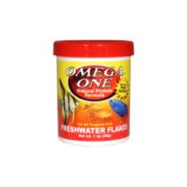 Omega One Freshwater Flakes 28 gramm - Akváriumi haleledel