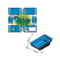 Ubbink Quadra Combi C2 kombinálható tómeder 1500 liter
