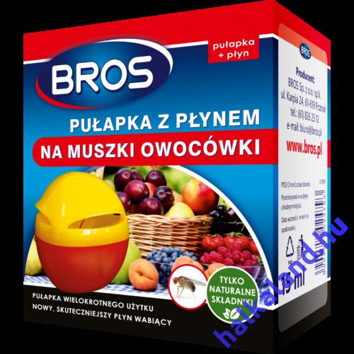 Bros Gyümölcslégy csapda+csalétek