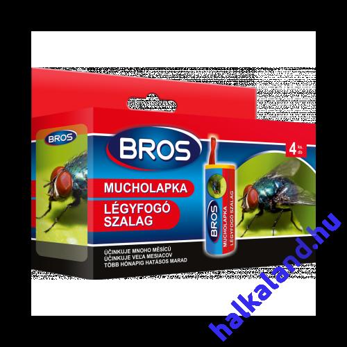 Bros Légyfogó szalag 4 db,csomag