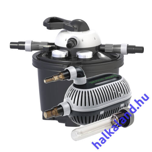Clear Control 25 nyomás alatti szűrőszett(CC25+UV-C 9W +HighStream 4 500 pumpa)