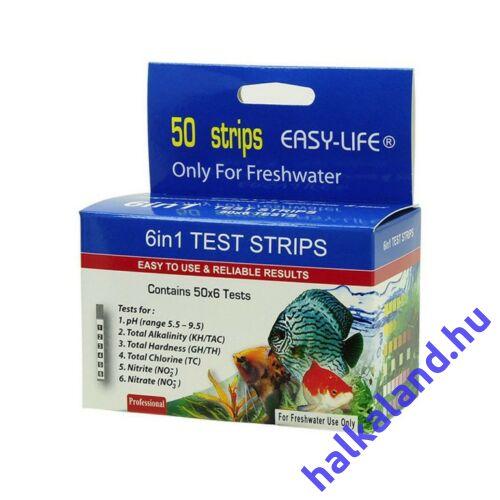 Easy Life 6 in 1 Test Trips - 50 db vízteszt