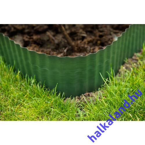 Gyepszegély zöld 9 cm x 9 m PE