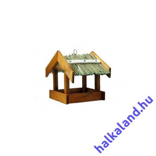 Nád vagy zsindely tetős madáretető Z1