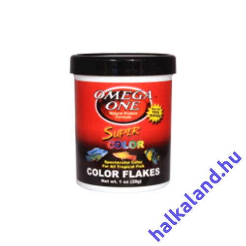 Omega One Super Color Flakes 28 gramm - Akváriumi haleledel