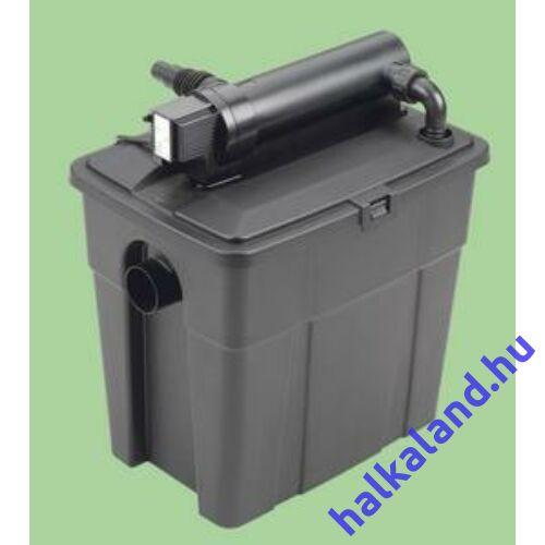 Pontec PondoClear set 4000mm 1000 lh Qmax-UVC 7W átfolyó szűrőkészlet UVC-vel