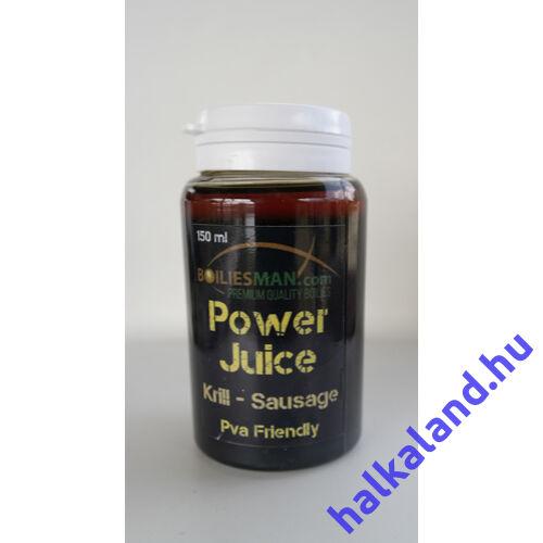 Power Juice Krill/sausage 150ml