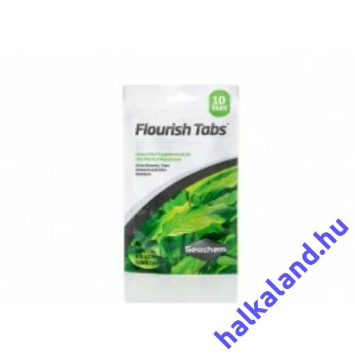 Seachem Fluoris Tabs Növénytáp